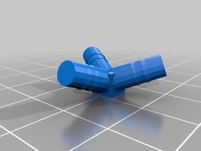 Connecteurs pour le montage d'un dodecaèdre( solide de Platon ) avec des pailles