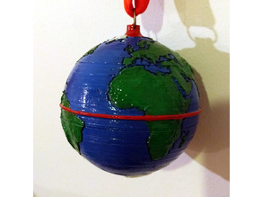 Planet Earth Bauble