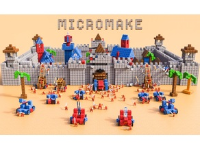 Micromake Kids modular robotic Open Source  Parts
