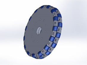 Omni-directional Wheel 140mm