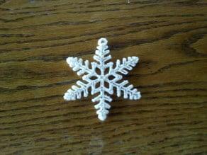 Parametric Snowflake Ornament