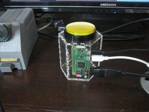 Raspberry Pi Zero - Button Case (lasercut)