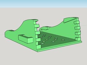 Runcam2 adjustable base (part 2 or 2- base unit)