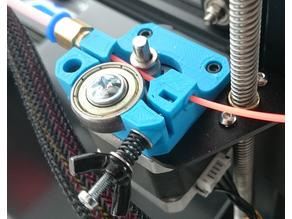 Compact Bowden Extruder for Creality Ender-3 and CR-10