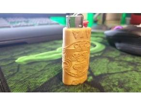 Aztec Lighter holder for mini BIC