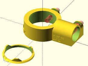 "Combo 1"" Lens Holder / Baffle"