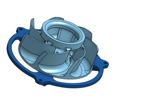 High Suction Vacuum Turbine (Mk1)
