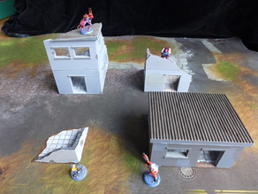 Nesting Urban Buildings for 28mm Gaming