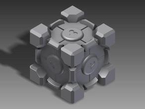 companion cube detailed