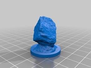 Descent 2nd ed. Summoned stone familiar mini