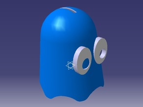 pac man ghost bank