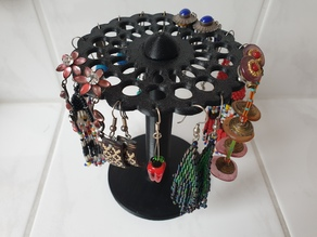 Ear Ring Holder Carousel