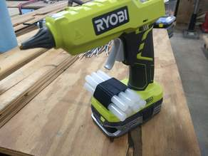 Ryobi One+ Glue Stick Holder