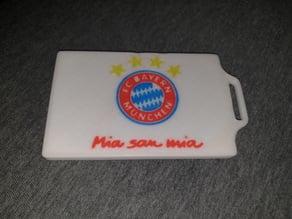 FC Bayern München Badge/Card Holder (Kartenhalter)