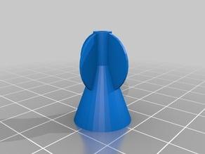 Experimental Blowgun Dart Cup