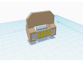 Simpel magnetic led light holder