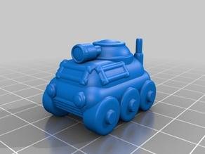 15mm Recon ATV Tank #D&D #DnD #Pathfinder #Starfinder #Shadowrun #pocket-dungeons #pocket-tactics #multiverse