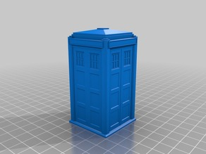 Thin wall TARDIS with Lights and Sound