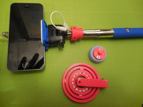 Selfie Stick Stabilizer ( requires 19*6mm airsoft bbs)