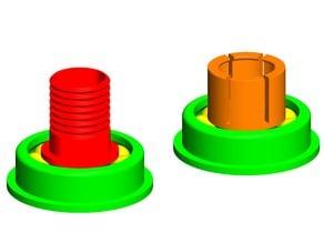ball bearing for 2cm tube white GEEETech