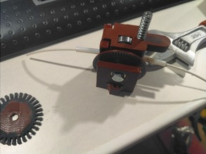 Optical Filament Sensor with Drive Gear - for 1.75mm filament