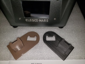 Elegoo Mars Remixed Drip Bed Attachment (Both Angles)