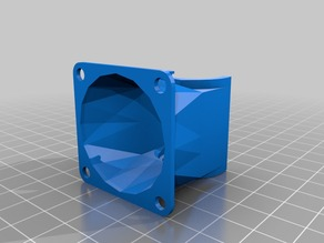 Cooling Fan Duct for E3D P3steel