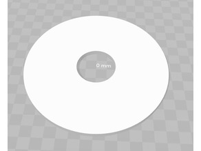 Circular Electrical Plate Cover