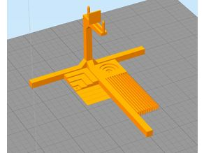 Calibration Gallows for 3D printers (torture test)