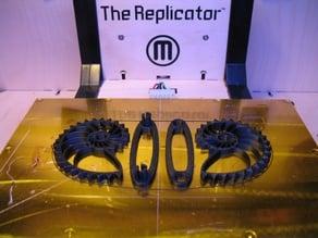 Nautilus Gears - Build Plate