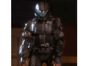Halo Reach and Halo 3 ODST - Rookie - Full Armor Set - Modified for Cosplay