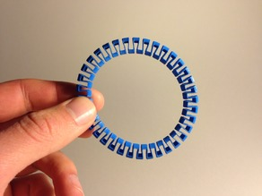 Customizable Circular Band Bracelet