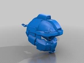 Halo Fredrick Helmet & AI Chip