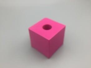 Cube with Secret Hole