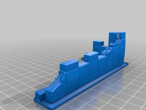 Wall / Mauer for Warhammer 40k (Space Marines, Orks, Eldar...) or other Tabletop´s