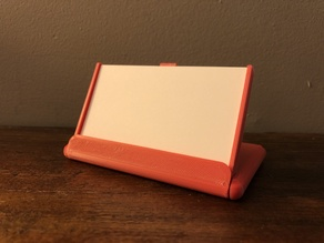 Flip Flex Business Card Holder / Case