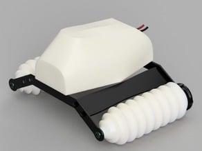 3D printed RC SnowRacer