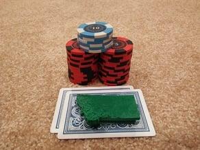 Topographic Montana Poker Card Capper