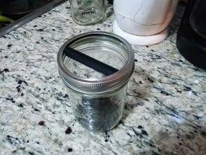 Espresso knocker insert for mason jar
