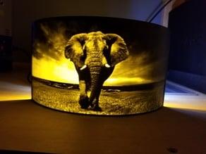 Elephant Lithophane