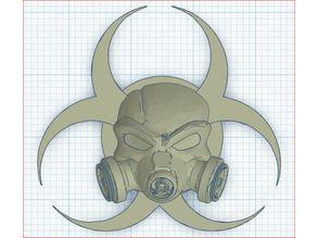 Gasmask Bio Hazard Door Knob