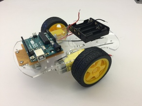 Arduino Base For Robot Car Kit