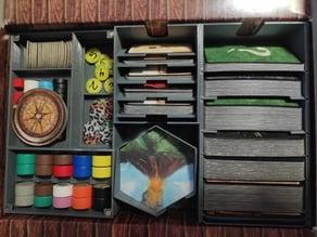 Robinson Crusoe board game box organizer