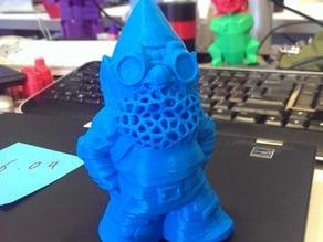Rocket Gnome Chia Pet