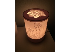 Paw Patrol Lithophane nightlamp