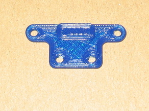 Sharp GP2D120X IR sensor mounting adaptor
