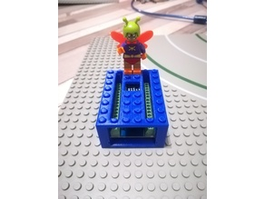 Arduino Nano screw terminal Lego compliant case - Boîtier pour terminal à vis Arduino Nano compatible Lego