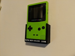 Game Boy Color Wall Mount