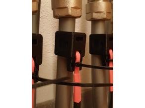 Temperatursensor Clip für Fußbodenheizungsrücklauf