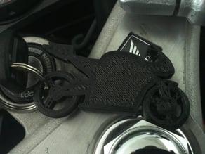 Motorcycle Keychain (Honda Cbr)